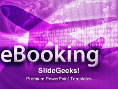 E Booking Travel PowerPoint Templates And PowerPoint Backgrounds 0211