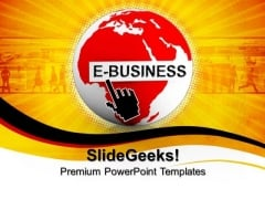 E Business Web Marketing PowerPoint Templates And PowerPoint Themes 0712