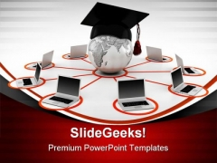 E Learning Concept Law PowerPoint Themes And PowerPoint Slides 0311
