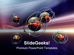 Earth Science Technology PowerPoint Templates And PowerPoint Backgrounds 0511