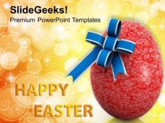Easter Day Christian Festival PowerPoint Templates Ppt Backgrounds For Slides 0313