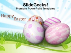 Easter Day Of Religious Services PowerPoint Templates Ppt Backgrounds For Slides 0313