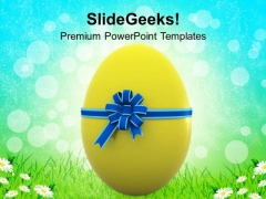 Easter Egg For Someone Special PowerPoint Templates Ppt Backgrounds For Slides 0313