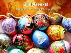 Easter Eggs Festival PowerPoint Templates And PowerPoint Backgrounds 0511