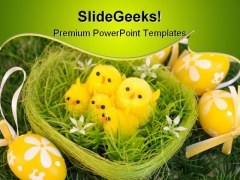 Easter Festival PowerPoint Templates And PowerPoint Backgrounds 0111