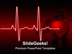 Ecg Medical PowerPoint Template 0610