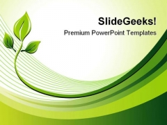 Eco Background Nature PowerPoint Themes And PowerPoint Slides 0711