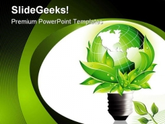 Eco Concept Environment PowerPoint Themes And PowerPoint Slides 0211