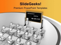 Educate Your Students With Knowledge PowerPoint Templates Ppt Backgrounds For Slides 0613
