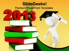 Education 2013 Books Future PowerPoint Templates And PowerPoint Themes 0612
