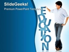 Education People PowerPoint Backgrounds And Templates 1210