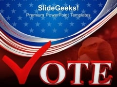 Election Vote Us Elections PowerPoint Templates And PowerPoint Themes 0812