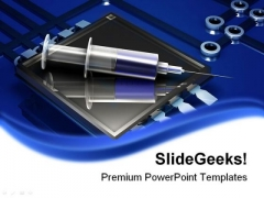 Electronic Injection Technology PowerPoint Templates And PowerPoint Backgrounds 0211