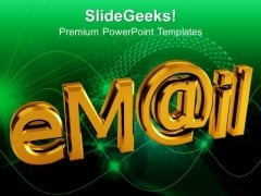 Email Technology PowerPoint Templates And PowerPoint Themes 0912