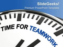 Encourage For Togetherness Teamwork PowerPoint Templates Ppt Backgrounds For Slides 0513