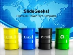 Energy Fuels Globe PowerPoint Templates Ppt Backgrounds For Slides 1212
