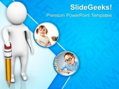 Enjoy Drawing With Pencil PowerPoint Templates Ppt Backgrounds For Slides 0813