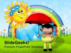 Enjoy Rainy Season PowerPoint Templates Ppt Backgrounds For Slides 0713