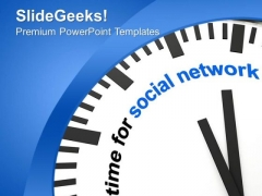 Enjoy Social Networking Technology Theme PowerPoint Templates Ppt Backgrounds For Slides 0413