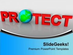 Environment Protection Global PowerPoint Templates Ppt Backgrounds For Slides 0113