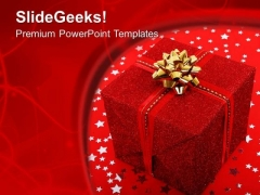 Exchange Decorative Gifts PowerPoint Templates Ppt Backgrounds For Slides 0613