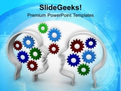 Exchanging Ideas Are Good PowerPoint Templates Ppt Backgrounds For Slides 0713