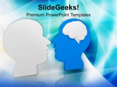 Exchanging Ideas For Upbringing Business PowerPoint Templates Ppt Backgrounds For Slides 0513