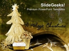 Explore The Magic Of Christmas PowerPoint Templates Ppt Backgrounds For Slides 0613