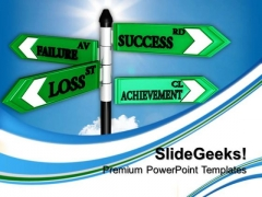 Failure Loss Business PowerPoint Templates And PowerPoint Themes 0612