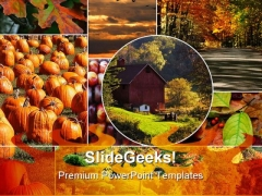 Fall Collage Nature PowerPoint Themes And PowerPoint Slides 0411