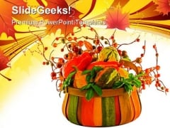 Fall Harvest Nature PowerPoint Templates And PowerPoint Backgrounds 0511