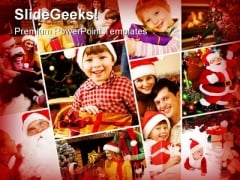 Family Festival Holidays PowerPoint Themes And PowerPoint Slides 0211