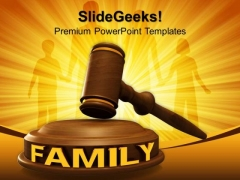 Family Law PowerPoint Templates And PowerPoint Themes 0812