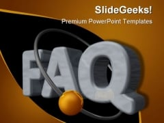 Faq Symbol PowerPoint Templates And PowerPoint Backgrounds 0511