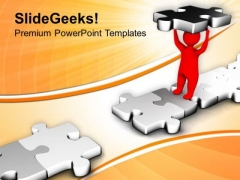 Fill The Gap With Suitable Skill PowerPoint Templates Ppt Backgrounds For Slides 0513