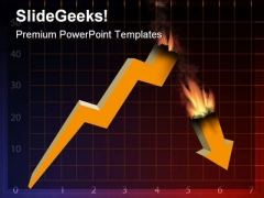 Financial Graph Finance PowerPoint Themes And PowerPoint Slides 0511