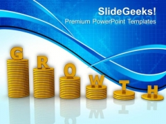 Financial Growth Business PowerPoint Templates And PowerPoint Themes 0912