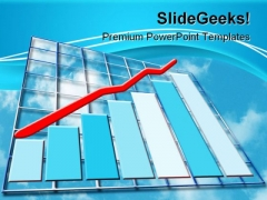 Financial Growth Business PowerPoint Themes And PowerPoint Slides 0811