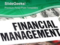 Financial Management Finance PowerPoint Templates And PowerPoint Backgrounds 0511