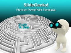 Find A Job Business PowerPoint Themes And PowerPoint Slides 0411