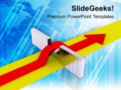 Find Breakthrough For Success PowerPoint Templates Ppt Backgrounds For Slides 0413
