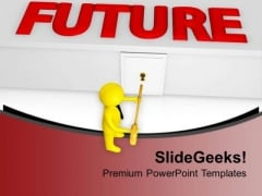 Find Future Goals For Business PowerPoint Templates Ppt Backgrounds For Slides 0713