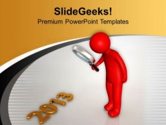 Find New Target For 2013 PowerPoint Templates Ppt Backgrounds For Slides 0413