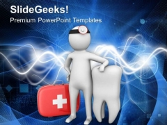 Find Right Dentist For Tooth Problem PowerPoint Templates Ppt Backgrounds For Slides 0713
