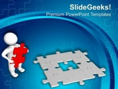 Find Right Solution Of The Business Problem PowerPoint Templates Ppt Backgrounds For Slides 0413