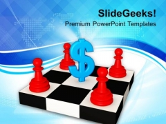 Find Strategies To Earn Dollers PowerPoint Templates Ppt Backgrounds For Slides 0413
