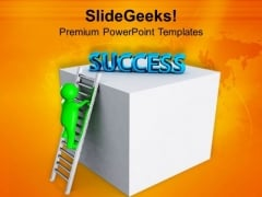 Find Success With Hardwork PowerPoint Templates Ppt Backgrounds For Slides 0713