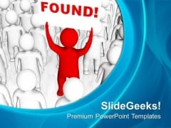 Find The Right Person For Business PowerPoint Templates Ppt Backgrounds For Slides 0513