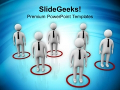 Find The Right Place In Financial Sector PowerPoint Templates Ppt Backgrounds For Slides 0613