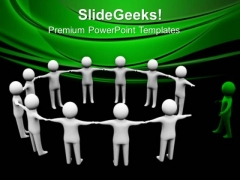 Find The Right Solution To Complete Circle PowerPoint Templates Ppt Backgrounds For Slides 0413